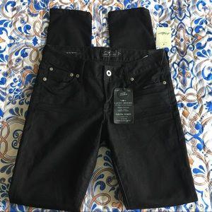 🛍NWT Lucky Brand Size 0 Lolita Skinny Black Jeans